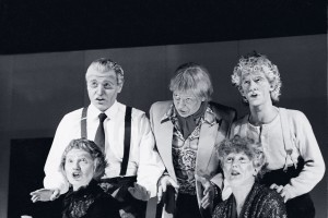 1988 - il primo spettacolo dell'Estravagario Teatro :