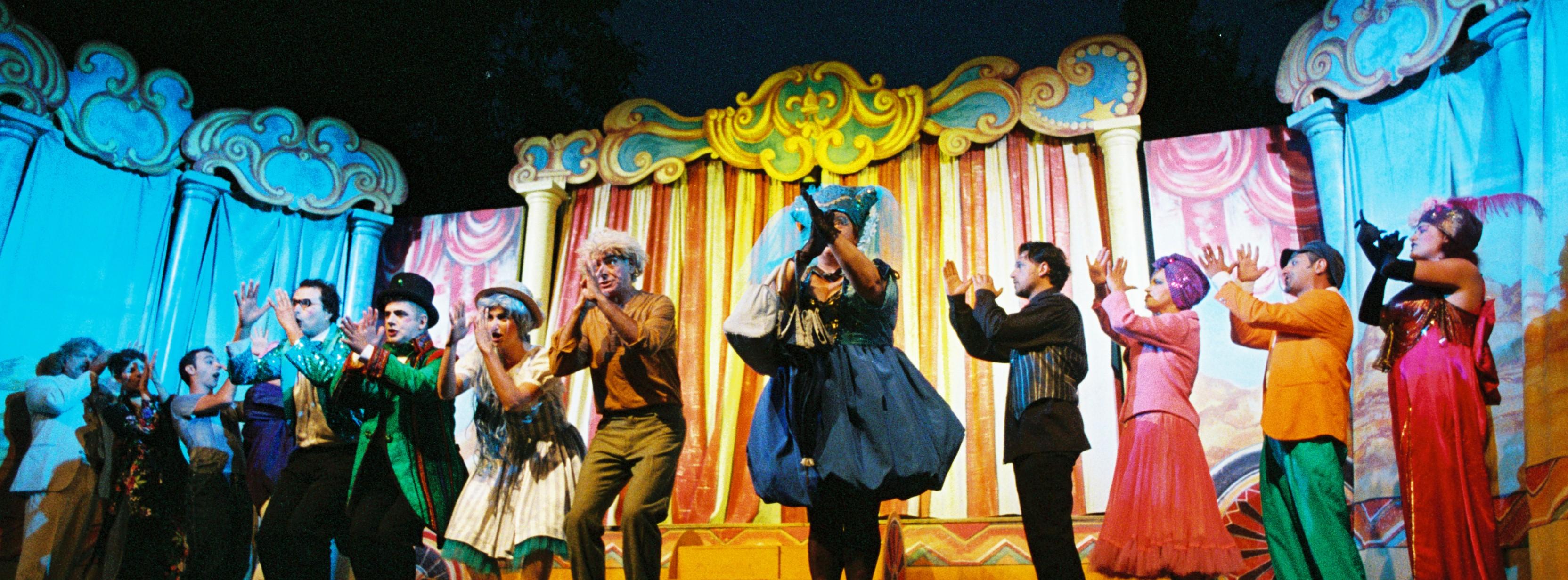 1995 - uno spettacolo pluripremiato: Non per caso a Pinocchio cresce il naso